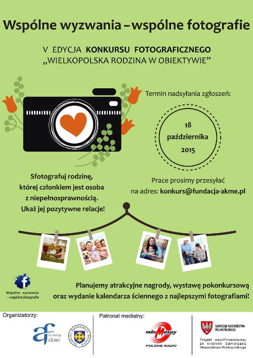Konkurs fotograficzny Wielkopolska Rodzina wObiektywie