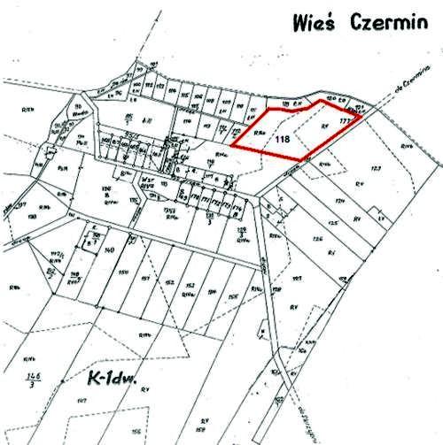 Działka nr118 (ark. m. 1) położona wmiejscowości Mamoty