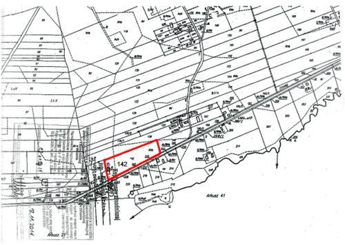 Działka nr142 (ark. m. 32) położona wmiejscowości Żale (obręb Czermin)