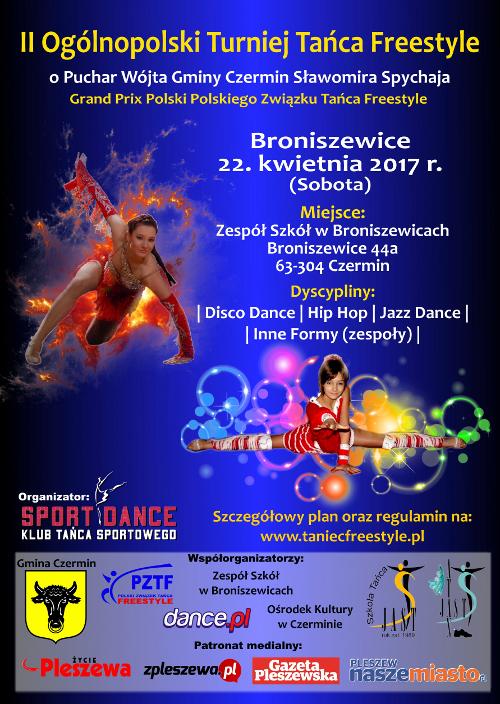 II Ogólnopolski Turniej Tańca Freestyle