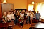 Spotkanie autorskie zPanią Jadwigą Galczewską