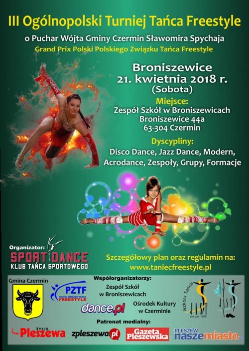 III Ogólnopolski Turniej Tańca Freestyle 2018