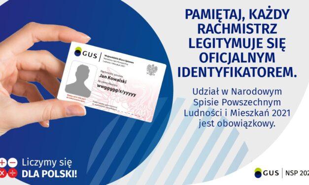 Rachmistrz legitymuje się specjalnym identyfikatorem