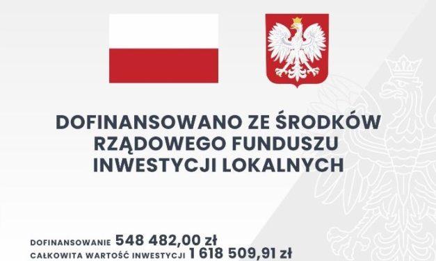 Budowa drogi gminnej nr625043P wmiejscowości Żegocin