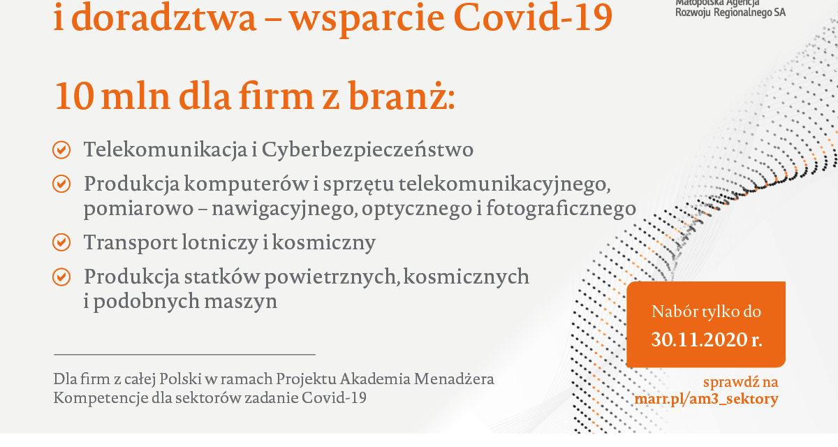 Dofinansowanie Covid 19.