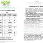 Harmonogram odbioru odpadów narok 2021