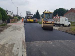 """""""Przebudowa drogi gminnej nr625027P wmiejscowości Broniszewice"""""""