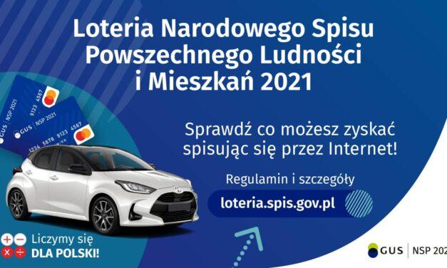 Narodowego Spisu Powszechnego Ludności iMieszkań 2021 – loteria