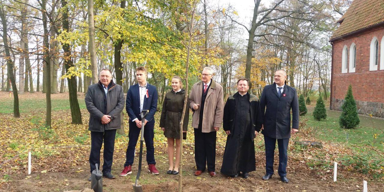 Obchody 100-lecia odzyskania niepodległości przezPolskę naterenie Gminy Czermin