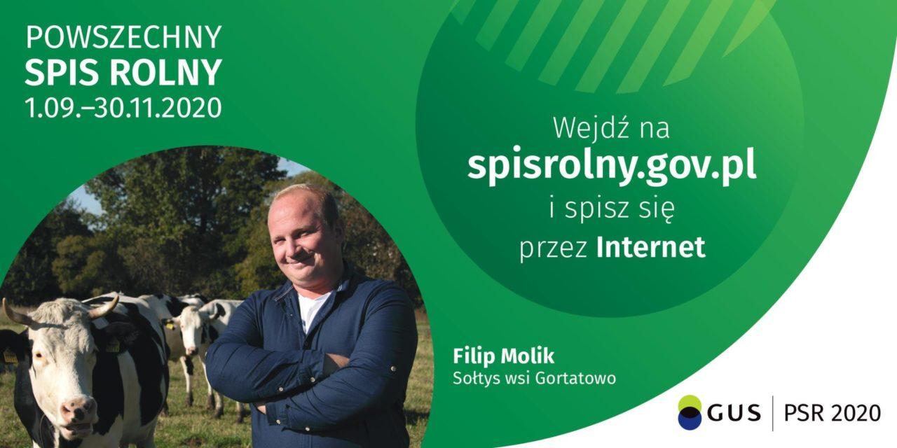Powszechny Spis Rolny 2020: wywiad zp.Filipem Molikiem