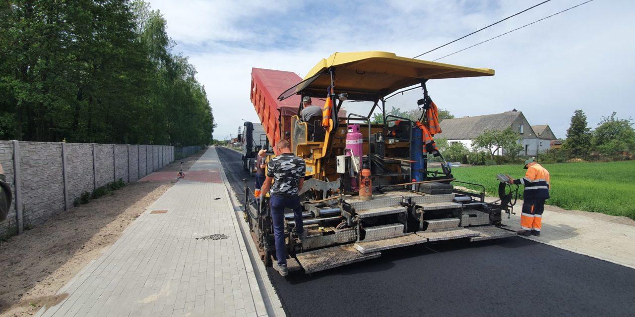 Przebudowa drogi gminnej nr625032P wmiejscowości Broniszewice