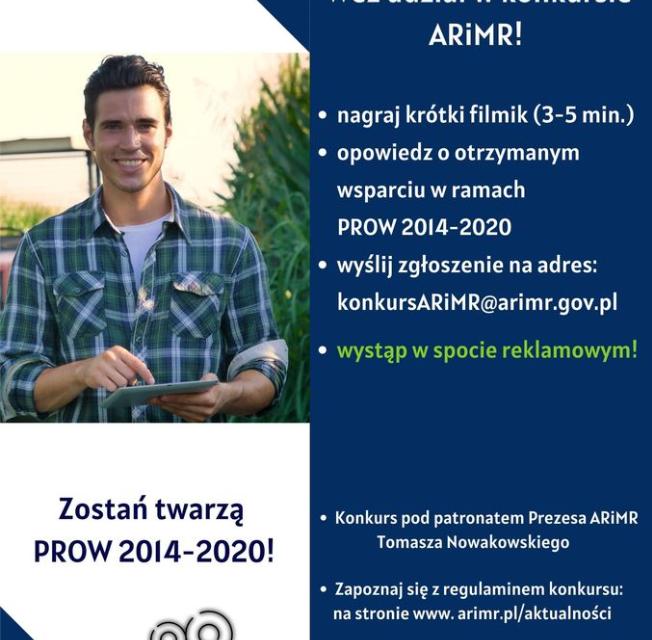 Weź udział wkonkursie ARiMR !