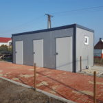 """Zakończenie realizacji projektu pn: """"Budowa budynku socjalnego naterenie rekreacyjno-sportowym miejscowości Czermin"""""""