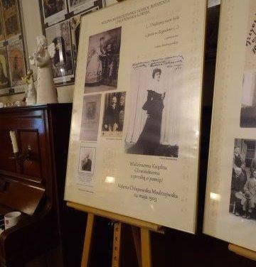 """Zakończenie realizacji projektu pn: """"Śladami przeszłości"""" – wydanie folderu poświęconego rodowi Chłapowskim połączone zwystawą zdjęć archiwalnych."""